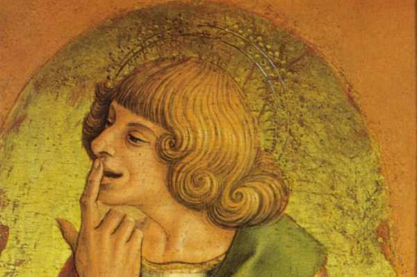 Carlo Crivelli, San Giovanni Evangelista, 1472