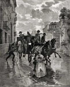 Attentato al Cardinale Rivarola da parte dei Carbonari