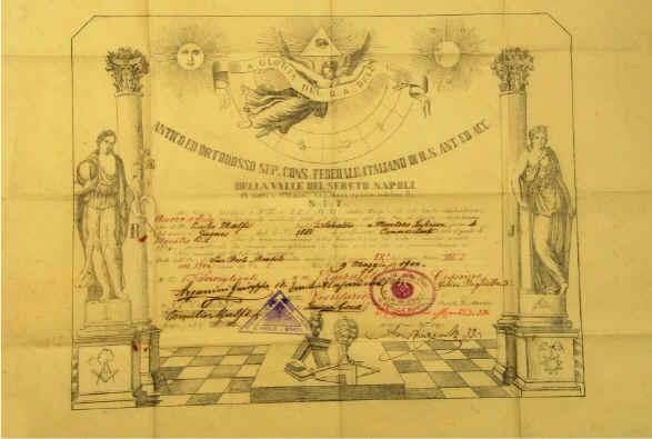 patenti massoni
