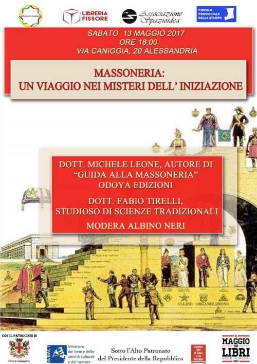 Libreria Fissore 13 maggio guida alla Massoneria